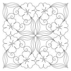 Digital – Page 164 – Anne Bright Designs Floral Embroidery Patterns, Machine Embroidery Patterns, Hand Embroidery Designs, Quilt Patterns, Machine Quilting, Flower Pot Design, Flower Art, Thread Painting, Fabric Painting