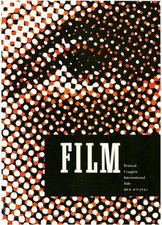 Film festival poster, 1945  Design: Fritz Buhler  Source: Paul Malon