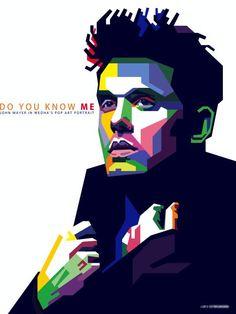 ღ Print Art John Mayer ღ