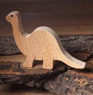 Diplodocus, wooden dinosaur