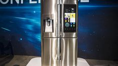With a 21.5-inch touchscreen and plans to add Amazon's Alexa for voice control, Samsung's Family Hub Refrigerator is by far the most ambitious smart appliance we've ever seen.