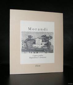 Giorgio Morandi # l'OPERA GRAFICA RISPONDENZE e VARIAZIONI# 1990, mint-