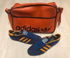 Adidas Surf and matching period Peter Black bag