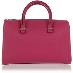 Victoria Beckham MInI BUFFALO  Hand Bag (57.760 RUB) ❤ liked on Polyvore featuring bags, handbags, tote bags, mini tote bags, man bag, tote purses, handbags totes and mini purse