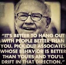 Poster Affiche Stock Market Citation Inspirante Anglais Warren Buffet Businessma