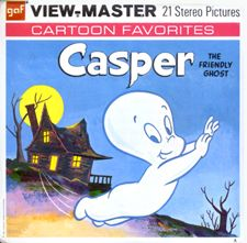 Casper the Friendly Ghost View-Master and other vintage toys Ghost Cartoon, 3d Camera, Casper The Friendly Ghost, View Master, Halloween Cross Stitches, Vintage Toys, Vintage Stuff, Walt Disney, Nostalgia