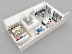 Ryan Shed Plans Shed Plans and Designs For Easy Shed Building! Studio Apartment Floor Plans, Studio Apartment Layout, Apartment Plans, Arranging Bedroom Furniture, Small Bedroom Furniture, Furniture Arrangement, Bedroom Layouts, House Layouts, Small House Plans