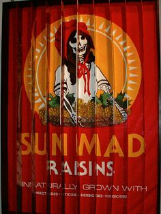 """Sun Mad"" by Ester Hernandez (serigraph, 1982) National Museum of Mexican Art Zippertravel.com"