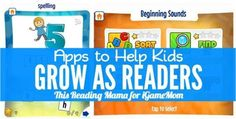 A series of apps designed to help kids to be good readers, from a teacher and an early literacy expert. Wonderful apps to check out. Great Apps, Good Readers, Beginning Sounds, Marie Curie, Early Literacy, Help Kids, My Little Girl, Teaching Kids, App Design