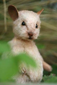 precious handmade mouse!!