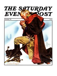 "George Washington at Valley Forge"","" Saturday Evening Post Cover, November 1, 1975"