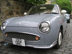 Figaro. When I lived in Japan, I really wanted one. They have the CUTEST retro look, but they are newer.