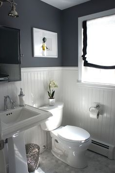 Home With Baxter House Tour Week 5 Half Bath Laundry Room Reveal Amazing Bathroomssmall