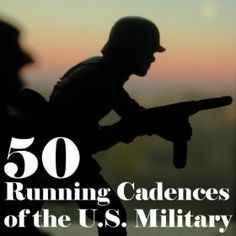 50 Running Cadences of the U.S. Military: U.S. Drill Sergeant Field Recordings: MP3 Downloads
