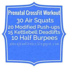 Fitness & Health: Prenatal CrossFit Workout - Fit Pregnancy
