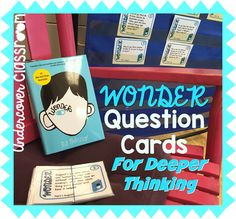 Three ways to use Wonder task cards for novel study. Check out this post if you use the book Wonder in your classroom.