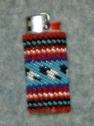 Image result for beaded lighter case pattern free