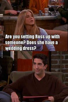 Does she have a wedding dress? Friends Funny Moments, Friends Episodes, Friends Season, I Love My Friends, Friends Show, That One Friend, Friends Scenes, Friend Jokes, Friend Mugs