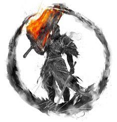 Fume Knight Art Print by Shimhaq - X-Small Dark Souls Characters, Fantasy Characters, Dark Souls 3, Dark Fantasy, Fantasy Art, Dark Souls Artorias, Soul Saga, Soul Tattoo, Knight Art