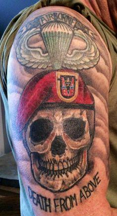 My Army tattoo.