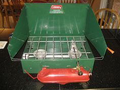 1960s camping | New Toy: 40 Year-Old Coleman Stove | family camping