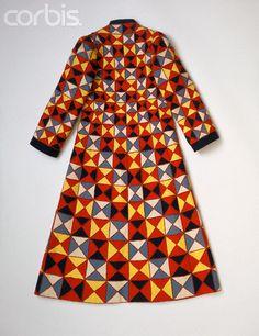 Schiaparelli patchwork coat