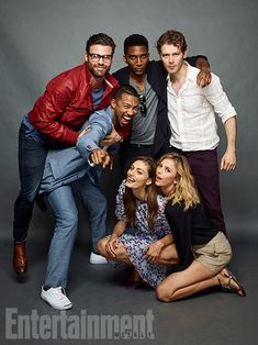 Comic-Con 2016 Star Portraits: Day 3 | Daniel Gillies, Charles Michael Davis, Yusuf Gatewood, Joseph Morgan, Phoebe Tonkin and Riley…