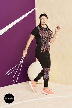Who said sportswear had to look boring? Sportswear designed to be fun and functional.