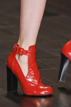 All the Scene-Stealing Shoes From New York's Fall 2013 Shows: Monique Lhuillier Fall 2013  : Belstaff Fall 2013  : Jill Stuart Fall 2013