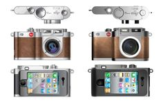 leica i9 concept for iphone 4 by black design associates