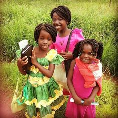 ♥ A beautiful world we are going to → Enjoying the ministry with these young sisters in Zambia. - ♥