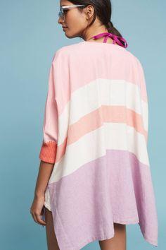 Slide View: 4: Kaden Striped Kimono
