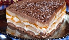 FotoRecept | Broskyňová nepečená torta