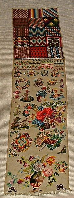 19th Century German Or Austrian Sampler (2) eBay