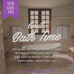 Ok this is a tough one! You want to soothe your sore muscles or warm up after a cold run, but remember that hot or long showers and baths dry out your skin. Keep it warm, and don't forget to moisturize! Bath Or Shower, Shower Time, Sore Muscles, Skin Tips, Skin Cream, Your Skin, Baths, Runners, Showers