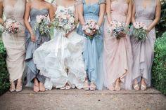 tom hams lighthouse real wedding bridesmaids