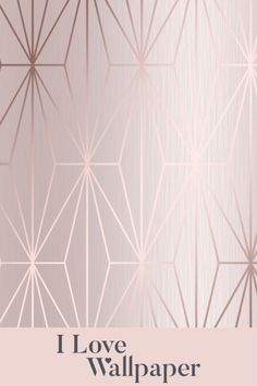 This beautifully designed wallpaper is absolutely perfect if you're looking to give your home a warm and stylish look. The design is made up of a background colour with a gentle gradient to it, slowly fading out and coming back again, with the whole paper finished off by metallic strips that produce a variety of geometric shapes, adding life to an already stunning paper. The ideal wallpaper design to elevate any girls bedroom.