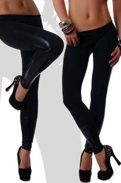 Leggings Sparsam Ladies Ankle Length Stretch Fit Cotton Legging In Black Colours Damenmode
