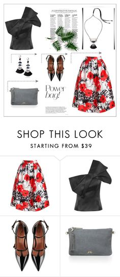 """""""Hero Capsule"""" by sitkajewels on Polyvore featuring Sans Souci, RED Valentino and Chloe + Isabel"""