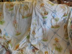 Vintage Hollie Hobbie Sheets set fitted and by Daysgonebytreasures, $24.00