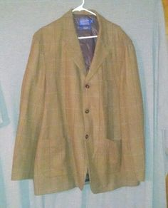 Pendleton Men's Virgin Wool Coat Size XXL Long #Pendleton #VirginWoolCoat