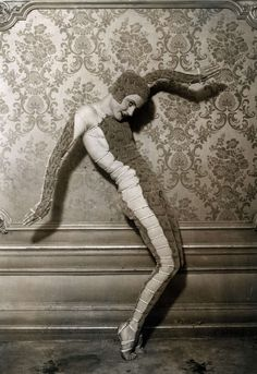 """The Dance Track."" Helene Shelda, a young Russian dancer who was inspired by the Hindus in British India, reaped great success in Paris, 1931."