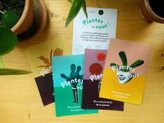 "Illustration and graphic design for ""Plantez-vous"", a plant swap event hosted by SEEDS in Paris. Mixed Media, Typography, Graphic Design, Flyers, Illustration, Projects, Art, Beginning Sounds, Plant"