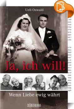 Ja, ich will!    ::  Die Ehe ist ein Abenteuer - eines, das heute viel zu oft Schiffbruch erleidet. Die Gründe dafür sind so zahlreich wie verschieden. Aber was macht eine lang dauernde Beziehung aus? Gibt es ein Geheimrezept?   In diesem Buch erzählen sechs Paare ehrlich, offen und sehr lebendig von ihrer gemeinsamen Reise. Davon, wie sie zusammengefunden und zwischen vierzig und beinahe achtzig Jahre gemeinsames Leben und Lieben gemeistert haben. Beim Lesen von »Ja, ich will!« wird s...