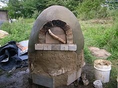 HOW TO BUILD DIY: your own Outdoor Oven.  Cob Oven, Pizza etc... YES!