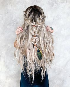 32 unique braid hairstyle ideas you should try - braid hairstyles, braided updo hairstyle French Braid Hairstyles, Box Braids Hairstyles, Boho Hairstyles, Pretty Hairstyles, Updo Hairstyle, Hairstyle Ideas, Unique Hairstyles, Hairstyles With Extensions, Braid Extensions