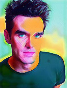 Morrissey Pop Art