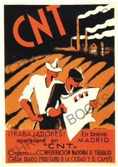 CNT #Spain #war #poster