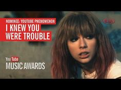"""I voted for """"I Knew You Were Trouble"""" to win the Phenomenon Award at the..."""