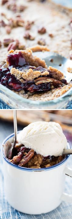 This recipe for 4-Ingredient Blueberry Cobbler Dump Cake is so easy, so quick, and so delicious! You'll be amazed at how simple this dessert recipe is!